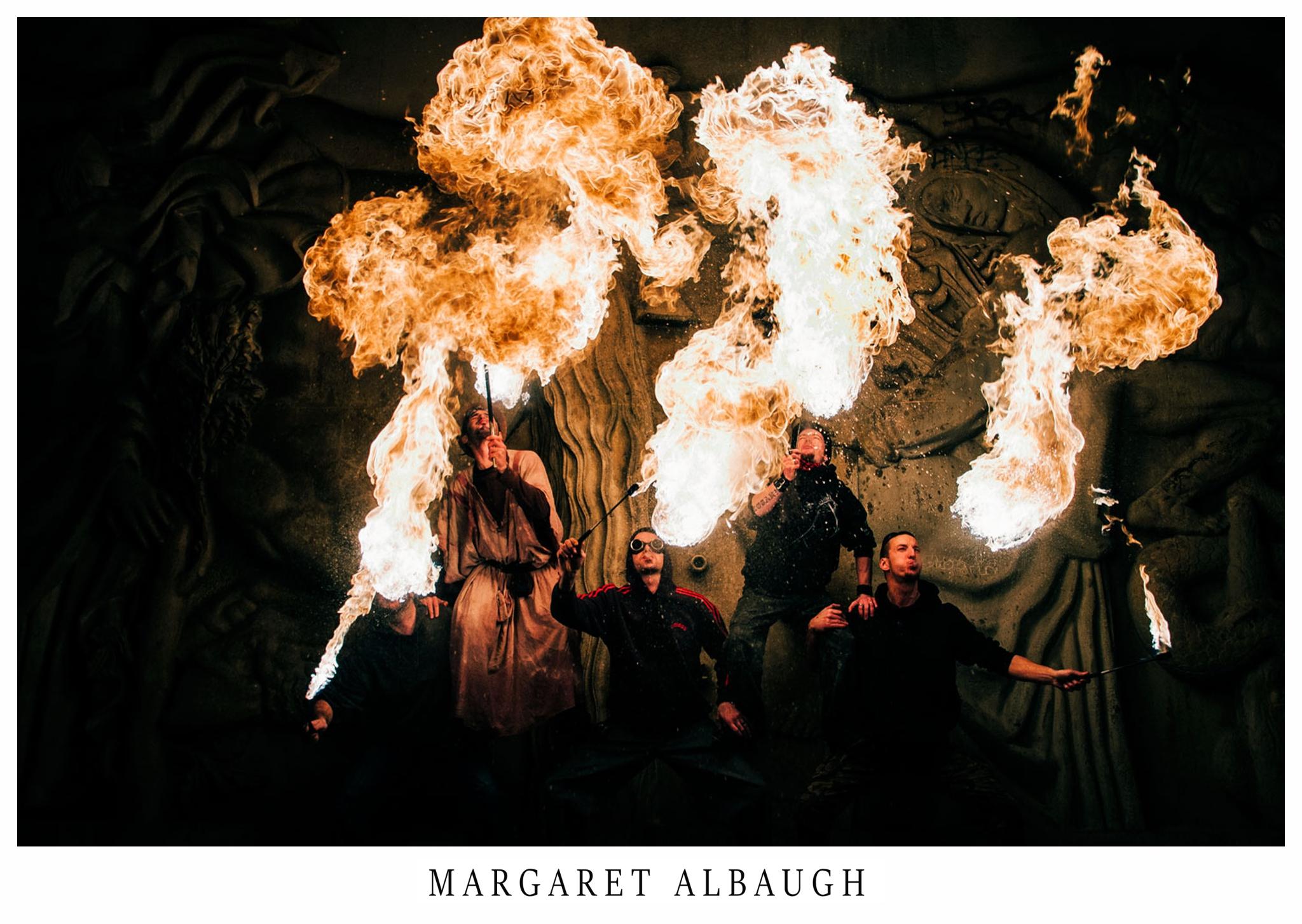 Paris Firebreathers   Street Photography
