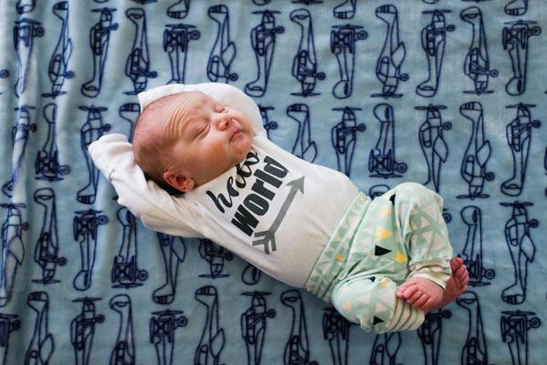 Spokane Newborn Photographer | Baby Beatryce