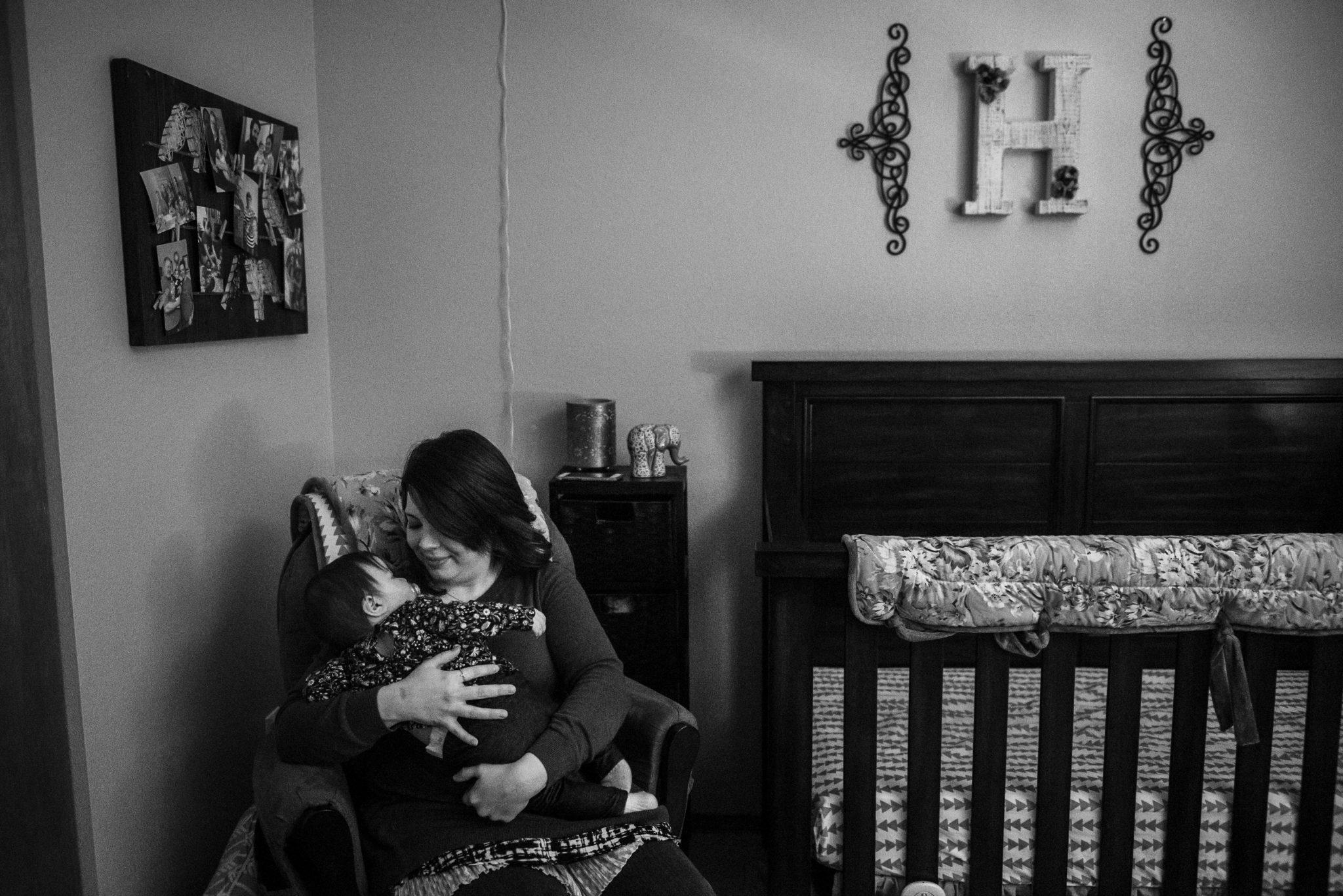 Celebrating One Year – Morning with Baby Akui | Spokane Photographer