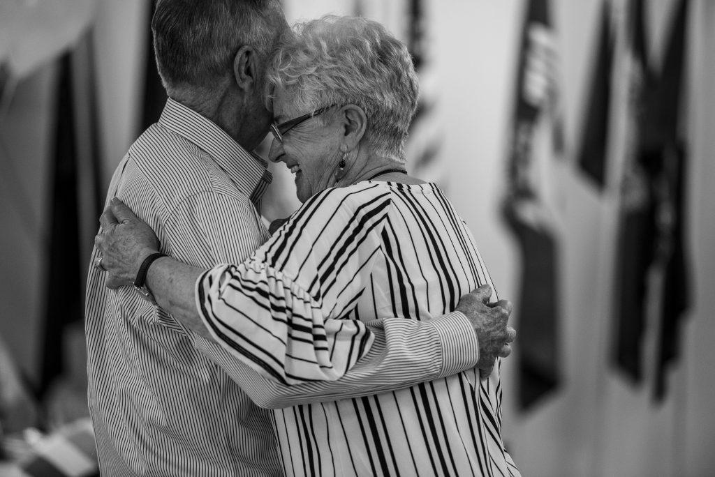 grandma and grandpa dancing
