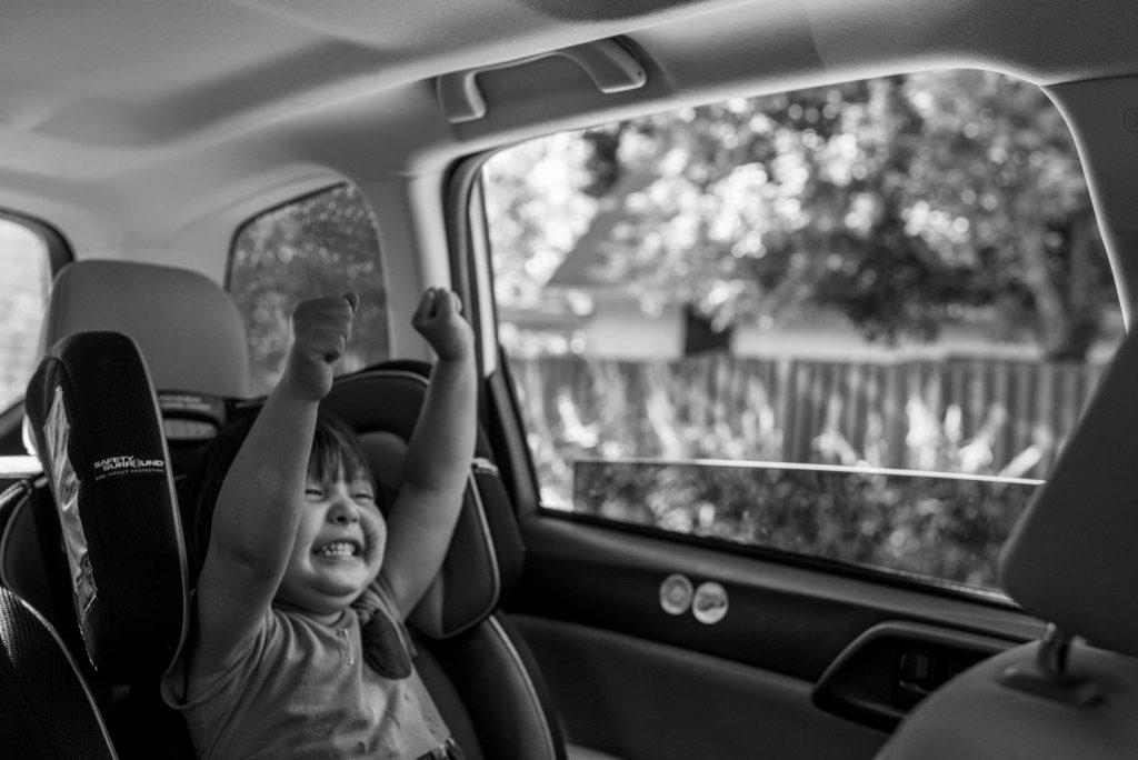 celebratory car ride