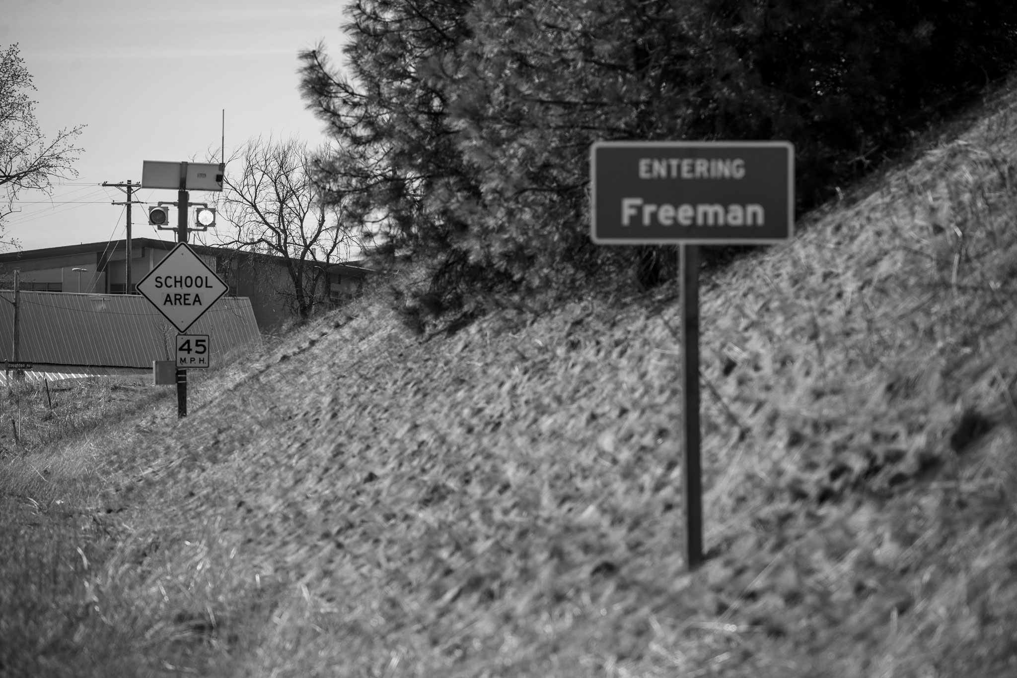 Freeman High School Sign