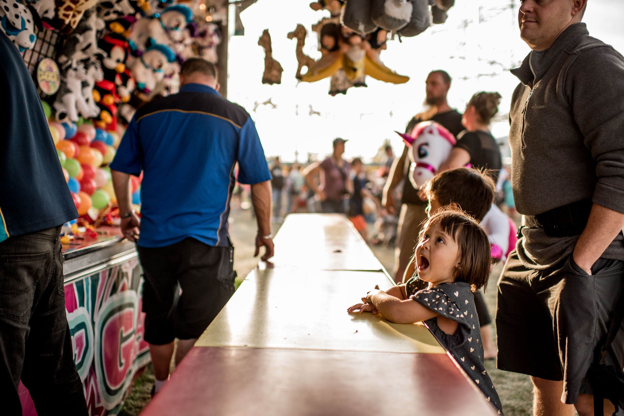 Our First Fair as a Family | Spokane Photographer