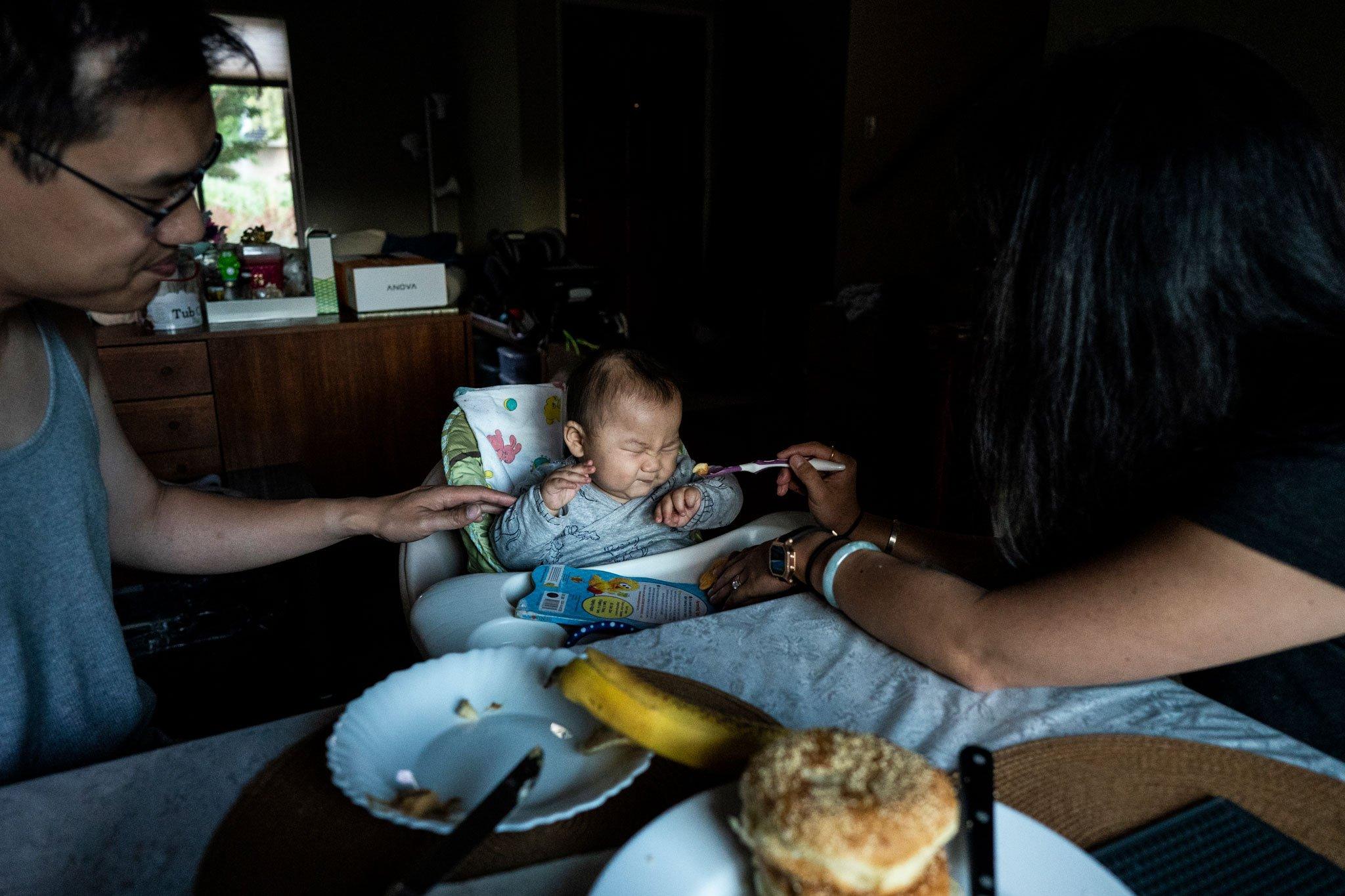 baby refusing food